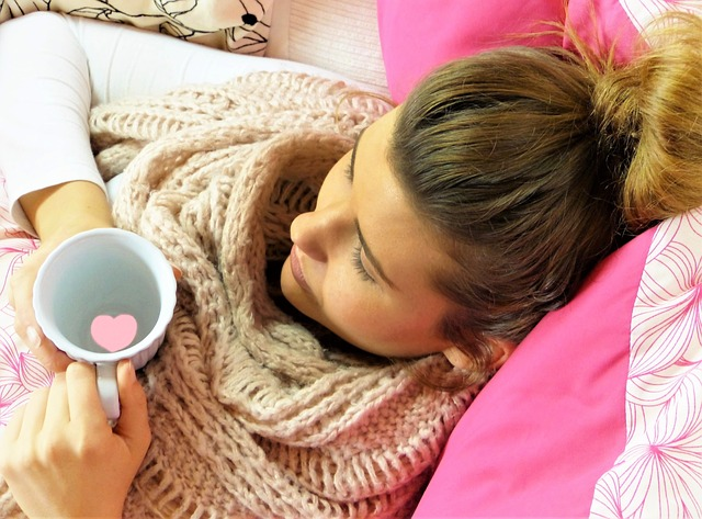 Krank zu Hause